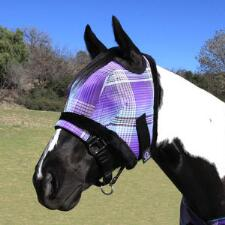 Kensington Fly Mask with Fleece Trim 700-900 lb - TB