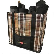 Show Tote Bag Large Plaid Mesh - TB