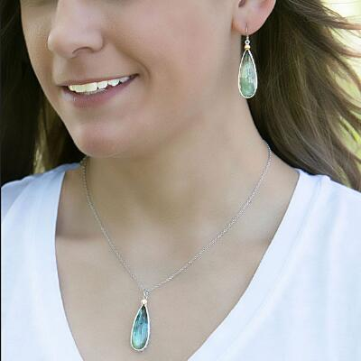 Montana Silversmiths Path to Hidden Lakes Earrings
