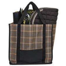 Tote Bag Large Plaid Mesh - TB