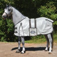 Miniature Horse Mesh Fly Sheet with Bellyband and Neck Cover - TB