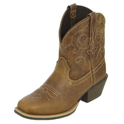 Justin Gypsy Chellie Tan Ladies Ankle Boot