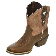 Justin Gypsy Chellie Chocolate Ladies Ankle Boot - TB