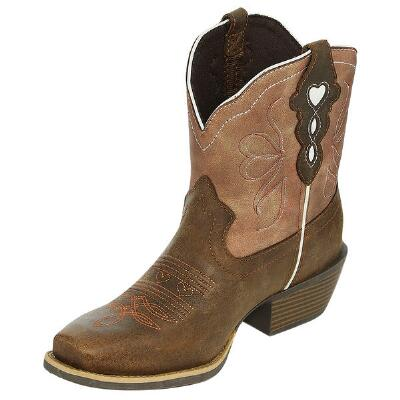 Justin Gypsy Chellie Chocolate Ladies Ankle Boot