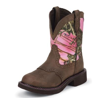 Justin Gypsy True Timber Ladies Western Boot