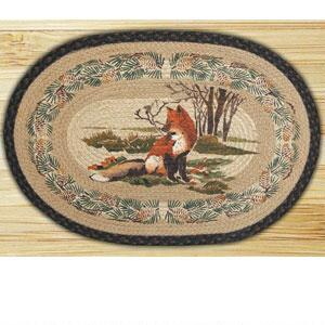 Capitol Earth Rugs Fox Braided Rug