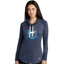 Amateur Hour Cowl Neck Ladies Tee - TB