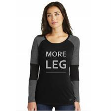 More Leg Long Sleeve Ladies Tee - TB