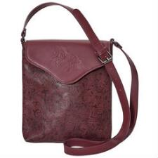 Tooled Leather Cross Body Purse - TB
