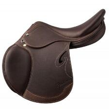 Prestige Italia Passion D Jumping Saddle 17 Seat/34 Tree/+2 Flap Projection - TB