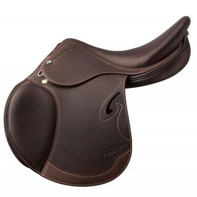 Prestige Italia Passion D Jumping Saddle 17 Seat/34 Tree/+2 Flap Projection
