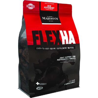 Majestys Flex HA Peppermint Wafer 60 Day