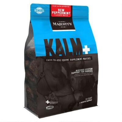 Majestys Kalm Peppermint Wafers 30 Day Supply