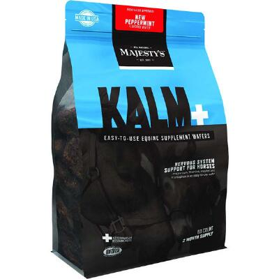 Majestys Kalm Peppermint Wafers 60 Day Supply