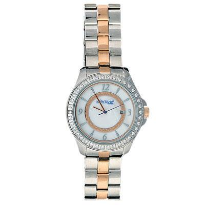 Silver Rose Stainless Steel Watch