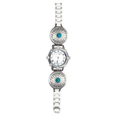 Desert Flower Concho Ladies Watch