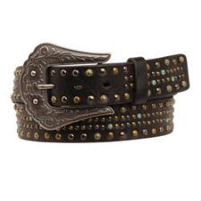 Nocona Multi-Metal Nailheads Ladies Belt - TB