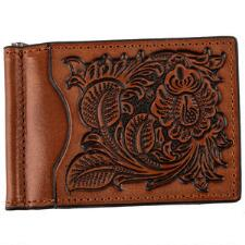 Wallet Bi Fold With Money Clip Tan - TB