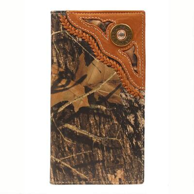 Nocona Rodeo Mossy Oak Wallet and Checkbook Cover