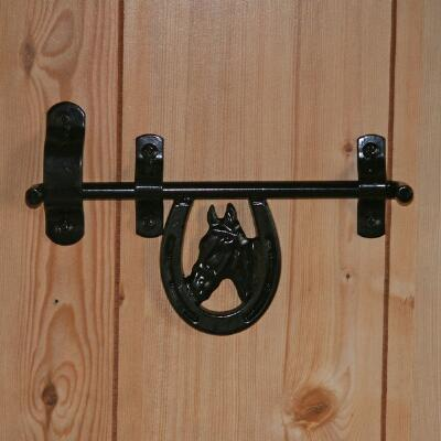 Newport Blacksmith Decorative Barn Door Latch