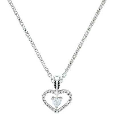 Montana Silversmiths Straight to the Heart Arrow Necklace