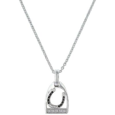 Montana Silversmiths Ride with Me Horseshoe Necklace