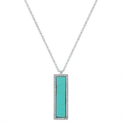 Montana Silversmiths Turquoise Bar Necklace