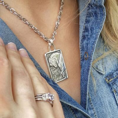 Montana Silversmiths Legacy of Strength Horse Pendant