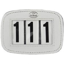 Hamag Leather Saddle Pad Number Holder