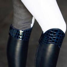 The Thermal Boot Crown - Navy Crocodile Print - TB