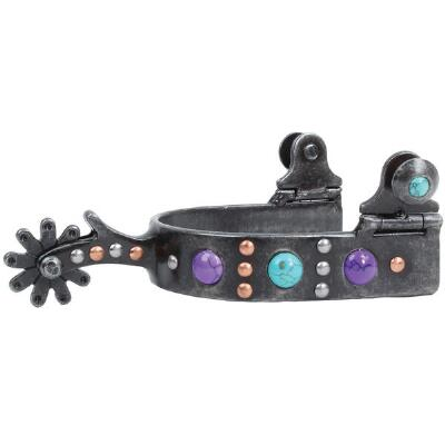 Professionals Choice Stone Dot Ladies Western Spur