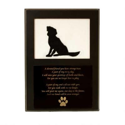 Memorial Picture Frame Plaque
