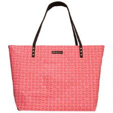 Paul & Lydia Zipper Orange Bits Tote Bag - TB