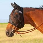 Cashel Quiet Ride Fly Mask with Ears - TB