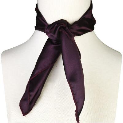 Solid Western Show Scarf