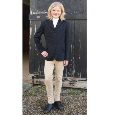 Classic Cotton Pull-on Knee Patch Kids Jods