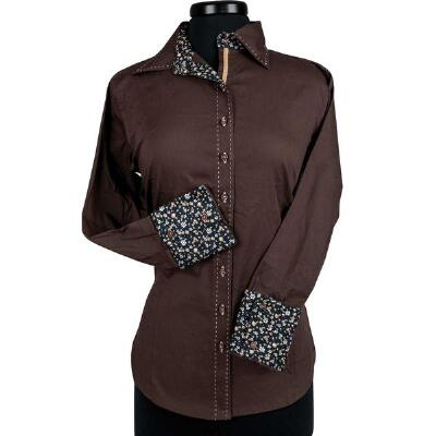Miranda Buckstitch Ladies Western Show Shirt
