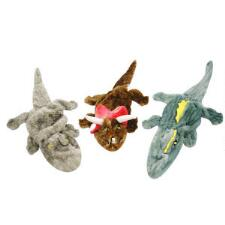 Jolly Pets Squeak-a-Mal Dinosaurs Dog Toy - TB