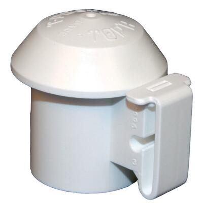 Polytape T-Post Cap Insulator White 10 Pack
