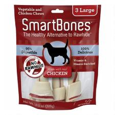 Smart Bone Large Chicken 3 Pack - TB