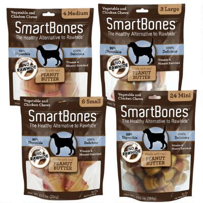Smart Bone Mini Peanut Butter 24 Pack