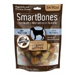 Smart Bone Mini Peanut Butter 24 Pack - TB