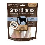 Smart Bone Large Peanut Butter 3 Pack - TB