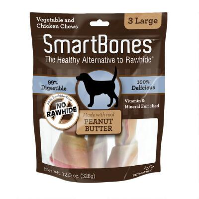 Smart Bone Large Peanut Butter 3 Pack