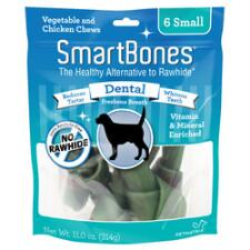 Smart Bone Small Dental 6 Pack