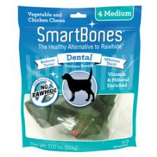 Smart Bone Medium Dental 4 Pack
