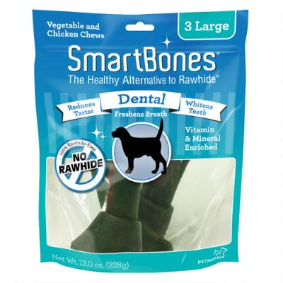 Smart Bone Large Dental 3 Pack