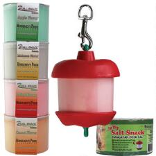 Jolly Apple Stall Snack Holder with Treat and Treat Refills - TB