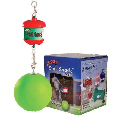 Stall Snack Holder With Jolly Ball