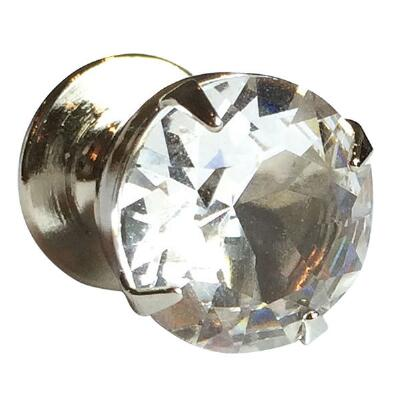 Signature Swarovski Solitaire Stock Pin
